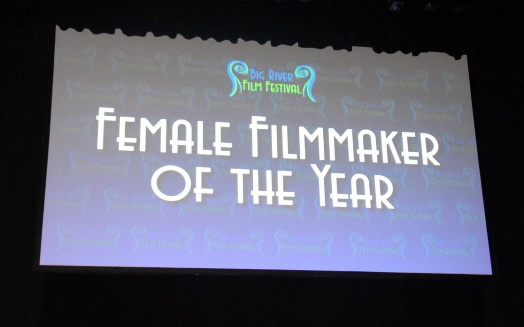 "Maria Finitzo voted ""2016 Female Filmmaker of the Year"" at Big River Film Festival"